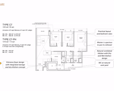 Parc_Central_Residence 3br Luxury 1023sf C7
