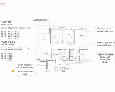 Parc_Central_Residence 3br Luxury 990sf C6