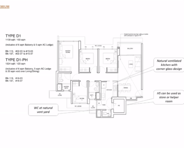 Parc_Central_Residence 4br Premium 1109sf D1