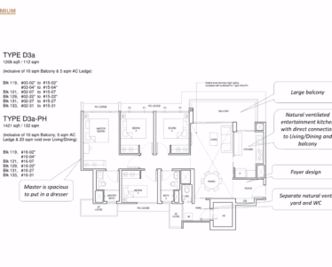 Parc_Central_Residence 4br Premium 1206sf