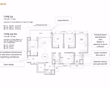 Parc_Central_Residence 4br Premium 1227sf
