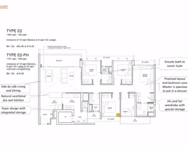 Parc_Central_Residence 5br Luxury 1464sf