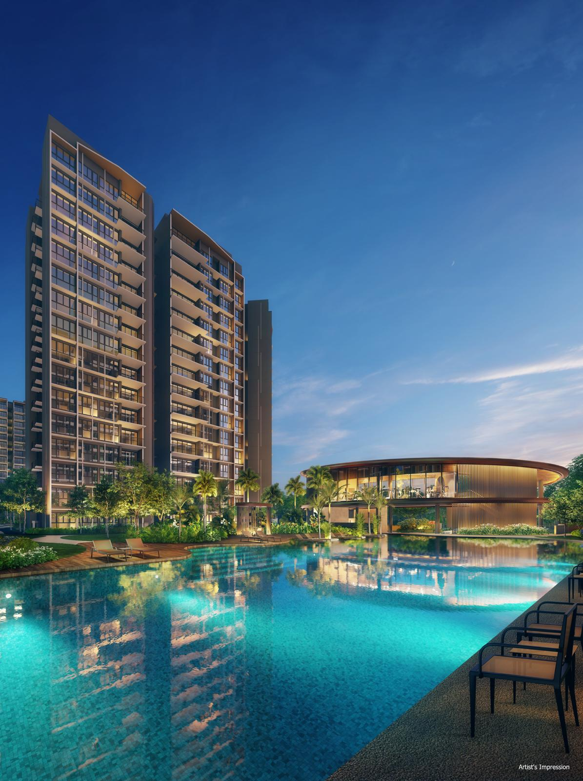 Parc Central Residences Perspective